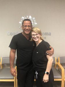 Dr. Kessler with Dr. Henry Ramirez